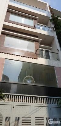 Bán nhà 5 tầng, hẻm xe tải, đường Phan Văn Trị, (5x15m), Quận Bình Thạnh. 9,8 tỷ