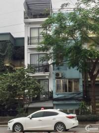 Bán nhà 6 tầng mặt phố Dương Khuê, Cầu Giấy, Vỉa hè rộng, DT 40m, giá 12 tỷ
