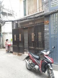 Bán nhà HXH 6m + góc 2 MT 490/9 Lý Thái Tổ, P10, Q10