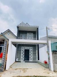 Bán nhà mới xây 1 trệt 1 lầu ở Trần Văn Mười-Hóc Môn, 120m Sổ hồng riêng