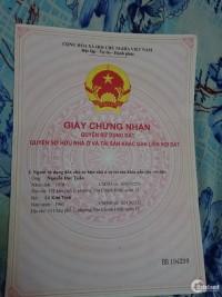Bán gấp nhà mặt tiền đường Dương Thị Mười , Q12 (5m x 26)