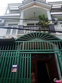 Bán nhà 1 trệt 2 lầu đường Thạnh Lộc 27, Q12, gần chợ Cầu Đồng,tiện KD