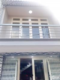 Bán nhà mới 1 lầu hẻm xe hơi đường Bùi Minh Trực Phường 5 Quận 8