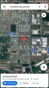 Dự án đất nền 100% thổ cư ngay Thị xã Bến Cát Bình Dương
