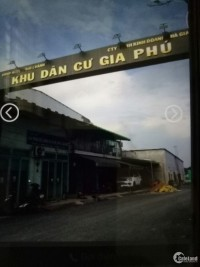Bán đất nền N1.6(5x18)=90m2 KDC gia Phú, huyện Bình Chánh, TPHCM