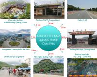 Bán đất nền Dự án đất nền KĐT Km8 Quang Hanh, Cẩm Phả