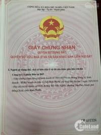 Bán đất mặt tiền Trần Hưng Đạo, SHR