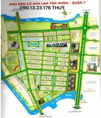 Chủ thiện chí bán nền 5x20 đường D1 KDC HIMLAM KÊNH TẺ QUẬN 7 gái bán 209tr/m