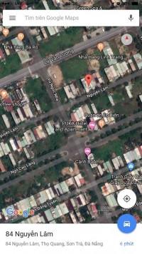 Bán 100 m2 đất đường Nguyễn Lâm,đầu tuyến Sơn Trà Đà Nẵng giá rẻ, tặng nhà 2T xâ