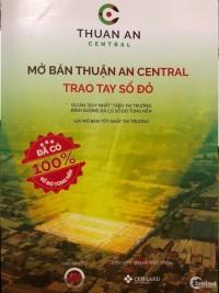 Bán đất nền Thuận An Central vị trí Trung Tâm
