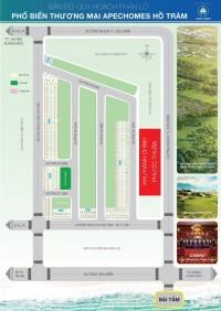Apec Home Hồ Tràm , đã có SHR từng nền, giá chỉ từ 7,6tr/m2.