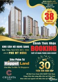 Celesta Rise - Kepple Land, Booking Siêu dự án Nam Sài Gòn