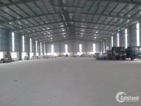 Cho thuê kho xưởng DT 760m2 1700m2, 3000m2 Phú Minh Sóc Sơn Hà Nội.