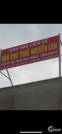 Cho thuê nhà đẹp 214/1 Võ Văn Hát, Long Trường, chỉ 5.5 tr/th, ở ngay