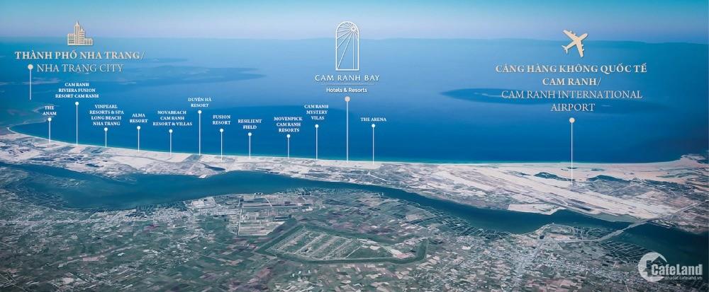 Chỉ 499 triệu để sở hữu ngay căn hộ nghỉ dưỡng dự án Cam Ranh Bay chuẩn 5 sao QT