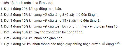 Căn hộ 57m2 cho ai có nhu cầu sử dụng tại dự án 24 Nguyễn Khuyến, Hà Đông, 1,38t