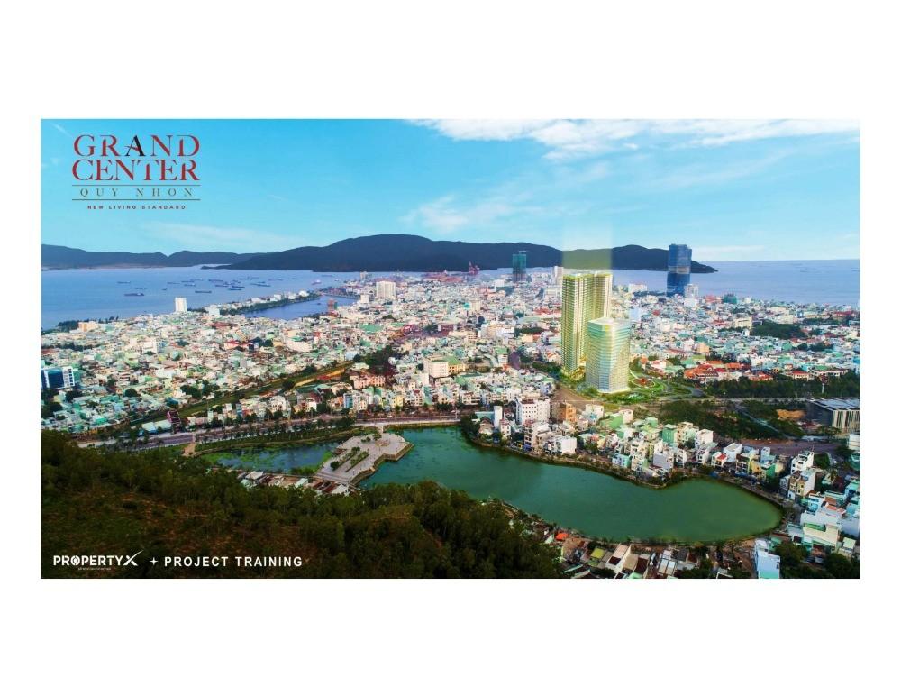 Căn hộ Grand Center Quy Nhơn Hưng Thịnh, 4 mặt tiền trung tâm TP Quy Nhơn