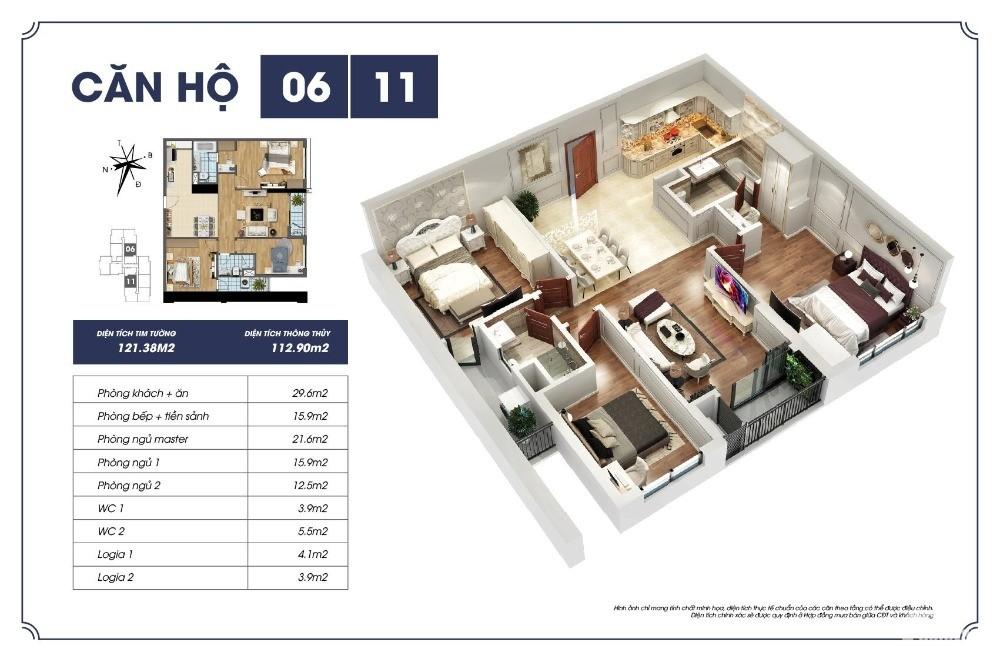 chung cư 3 Phòng ngủ nhận nhà ở luôn, khu Cầu Giấy – Mỹ Đình, giá chỉ 30tr/m2