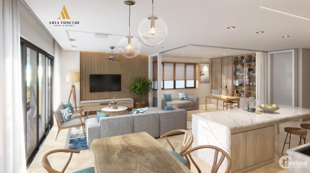 Công bố khu nghỉ dưỡng ARIA 5sao Vũng Tàu, SmartHome, full nội thất