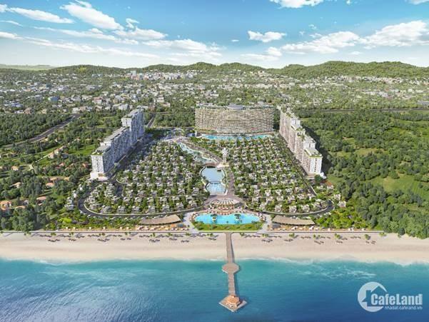 Quần thể biệt thự biển, codotel, khách sạn tại bãi Chí Linh – Vũng Tàu