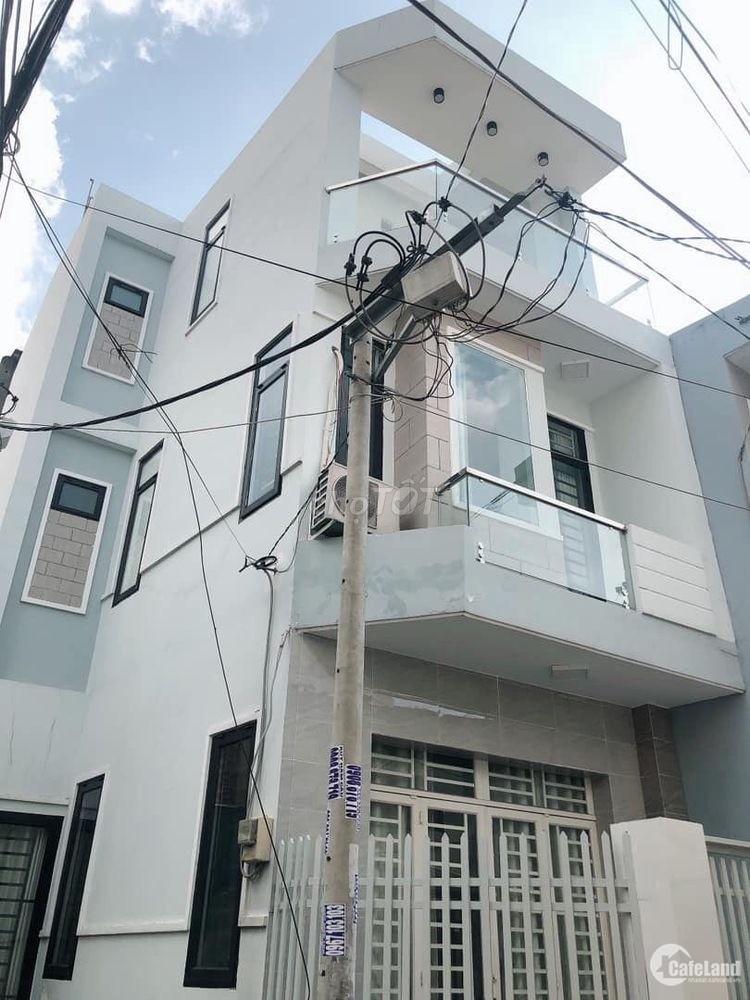Nhà 1 trệt 2 lầu 4.5x15.1 đường vành đai sổ riêng