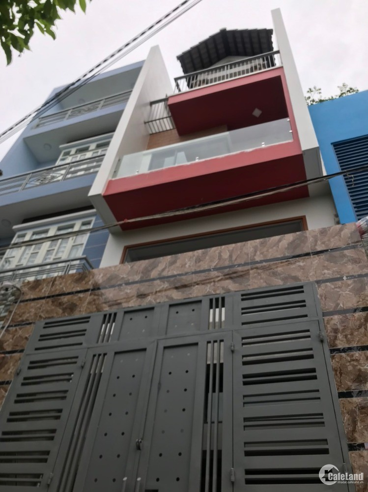 Bán nhà siêu đẹp MỚI XÂY 4 tầng đường Lê Văn Quới, Bình Tân 60m2 giá chỉ 5,65 tỷ