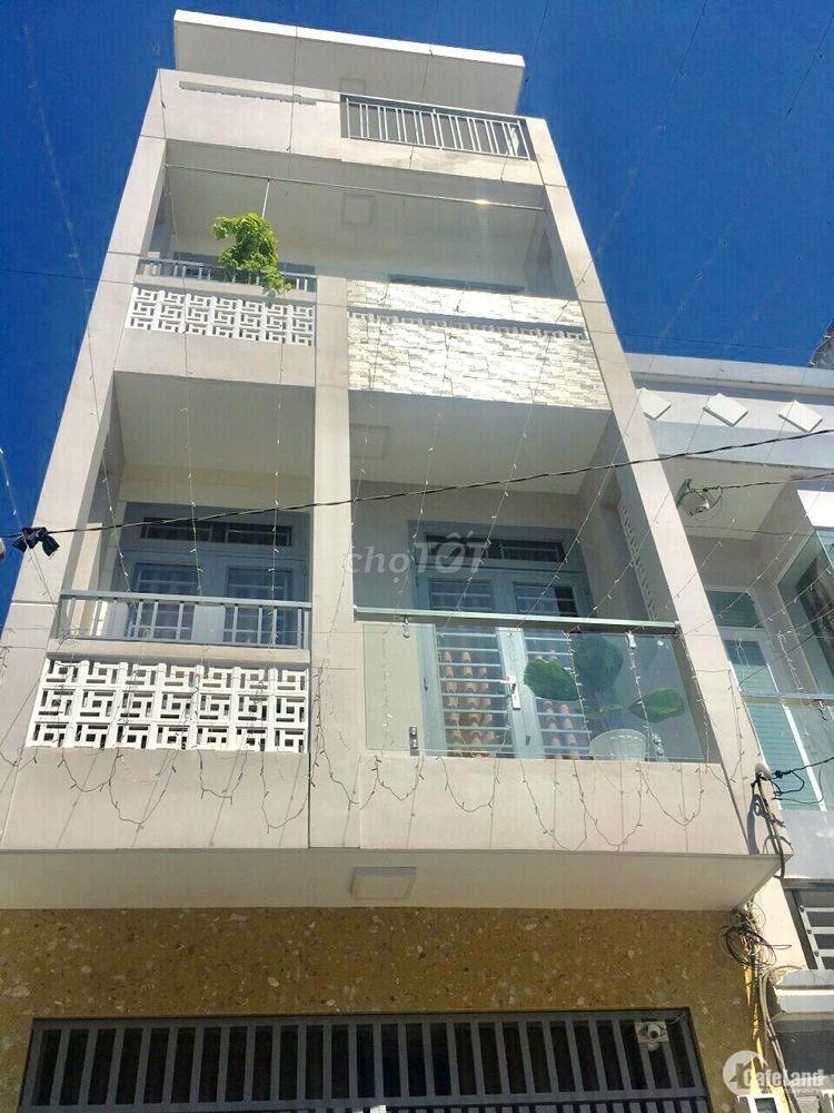 Nhà mới đẹp hẻm 6m Gò Dầu 4X12.5 (ĐÚC 3.5 TẤM) 4PN
