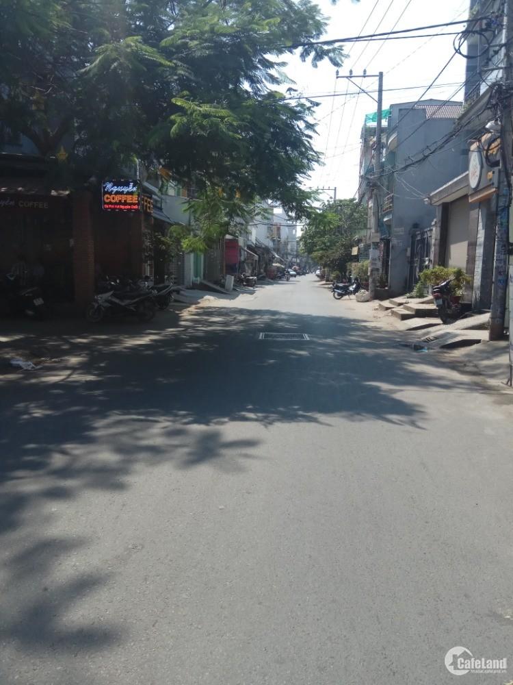 Bán nhà mặt tiền chia tài sản Kênh Tân Hoá, Tân Phú, 124m2, giá 11,5tỷ.