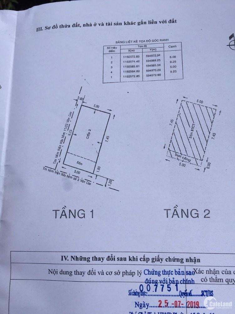 Nhà mới đẹp ngay trung tâm Tân Phú, hẻm xe hơi!!