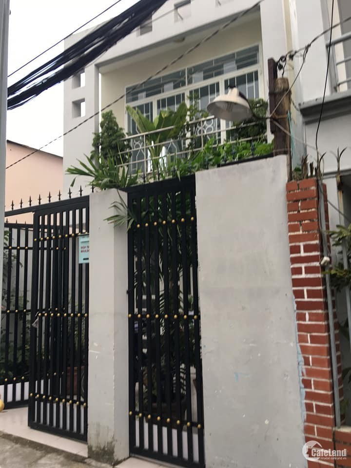 Chính chủ cần bán nhà 1 lầu mặt tiền đường Nguyễn Hữu Trí có SHR 54m2