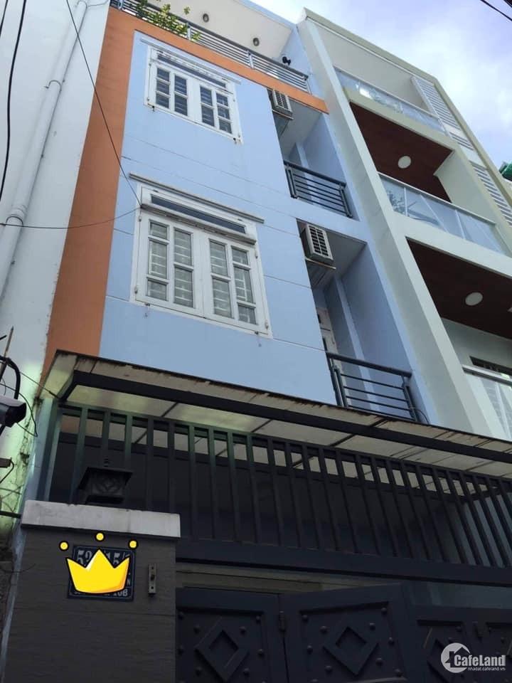 Bán Nhà HXH, Lê Văn Sỹ, F.11, Q.Phú Nhuận. 4 Tầng, 4PN, Mới Xây, Giá 7 tỷ 2.