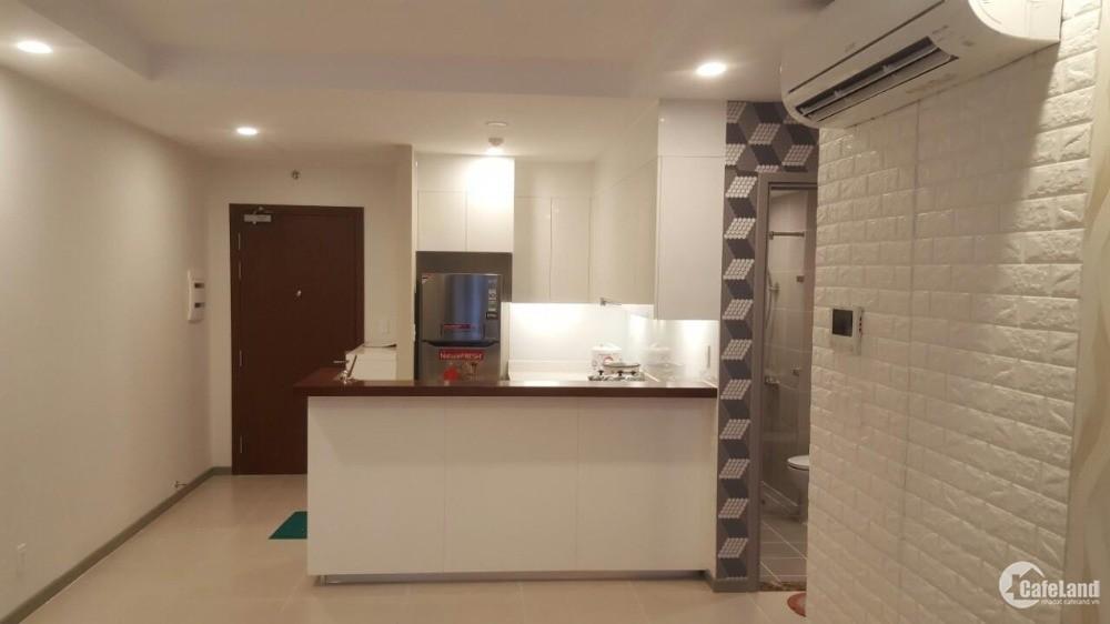 Cho thuê chung cư cao cấp The GoldView 2PN, 1WC full nội thất.