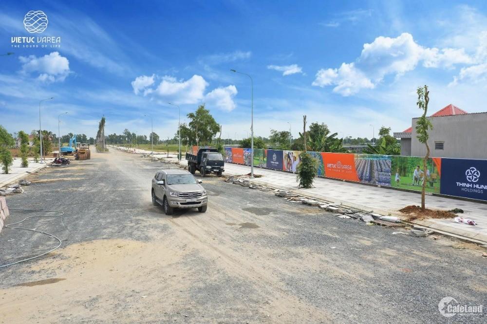 Đất nền trung tâm thị trấn bến lức, giá chỉ 13,6 triệu/m2