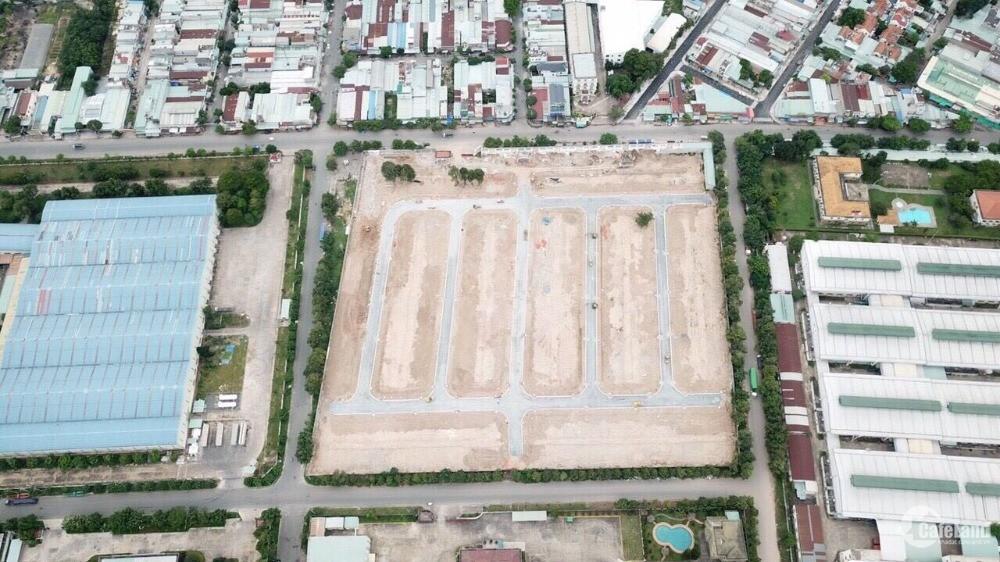 Đất nền và nhà phố khu đô thi 4 mặt tiền tại Dĩ An, tặng vàng SJC