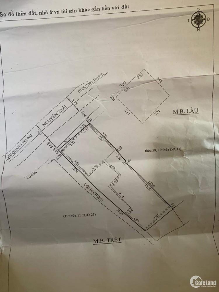Lô đất mặt tiền ngay trung tâm thành phố đường Nguyễn Trãi - P.9 - Đà Lạt .
