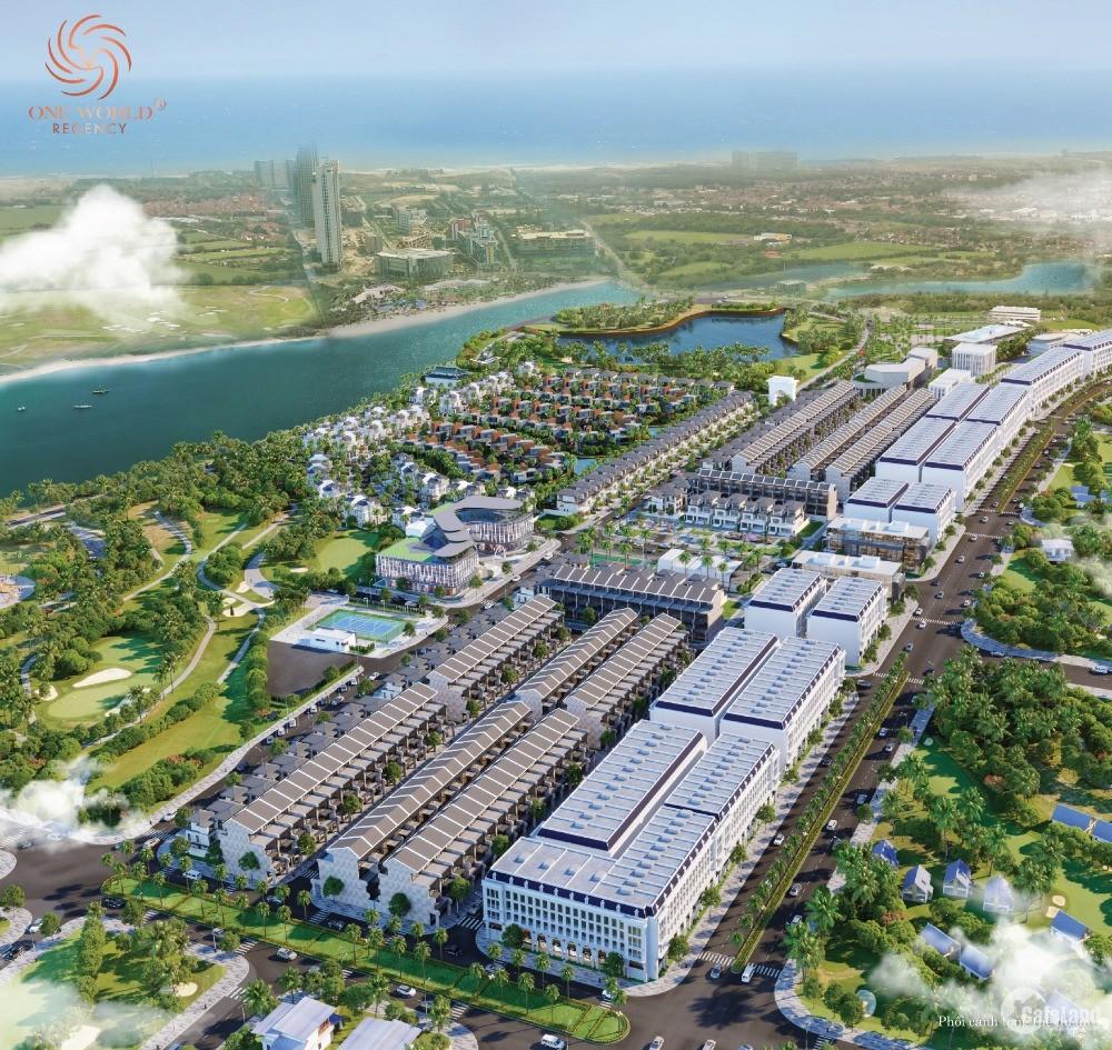 Dự án one world regency,vị trí đắc địa,được giới đầu tư mong suốt 3 năm qua.....