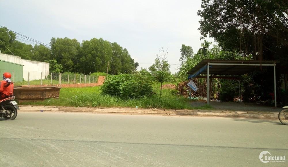 Tôi bán lô đất 125m2 mặt tiền 825 thị trấn Đức Hòa