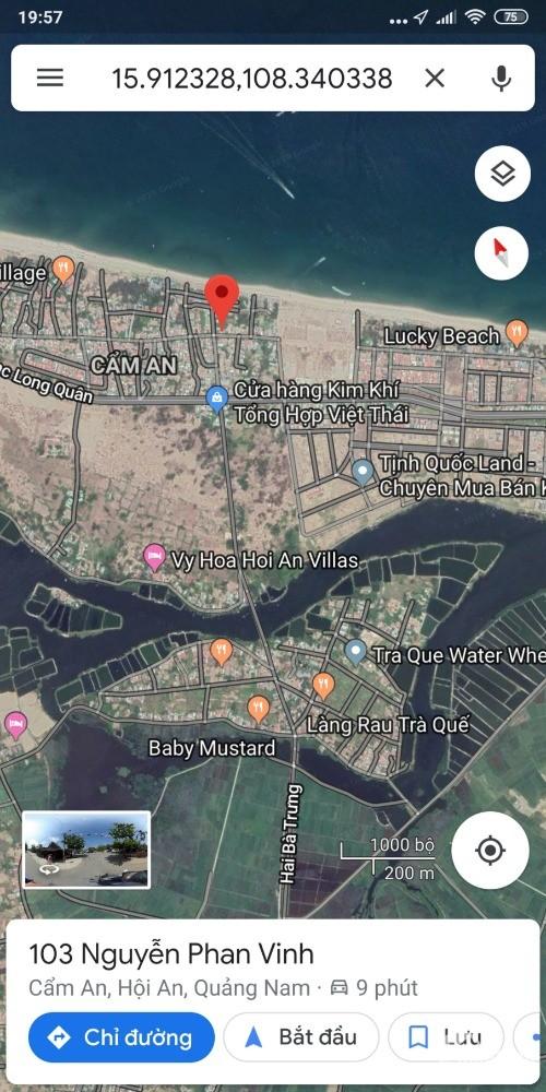 Cần bán 350m Mặt tiền Nguyễn Phan Vinh Hội An - Cách biển An Bàng vài bước chân