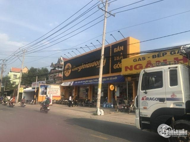 Đất nhà Huỳnh Minh Mương 6*20,5(123m2) thổ cư,875 Triệu/SH,công chứng sang tên n