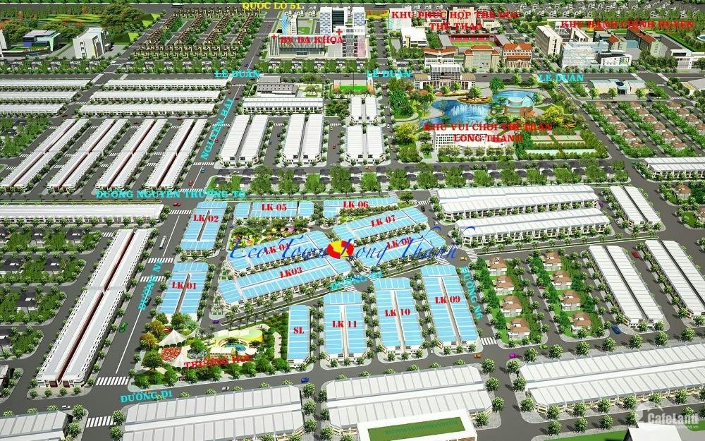 Eco Town Long Thành, TTHC Long Thành pháp lí rõ ràng, tiện ích đầy đủ