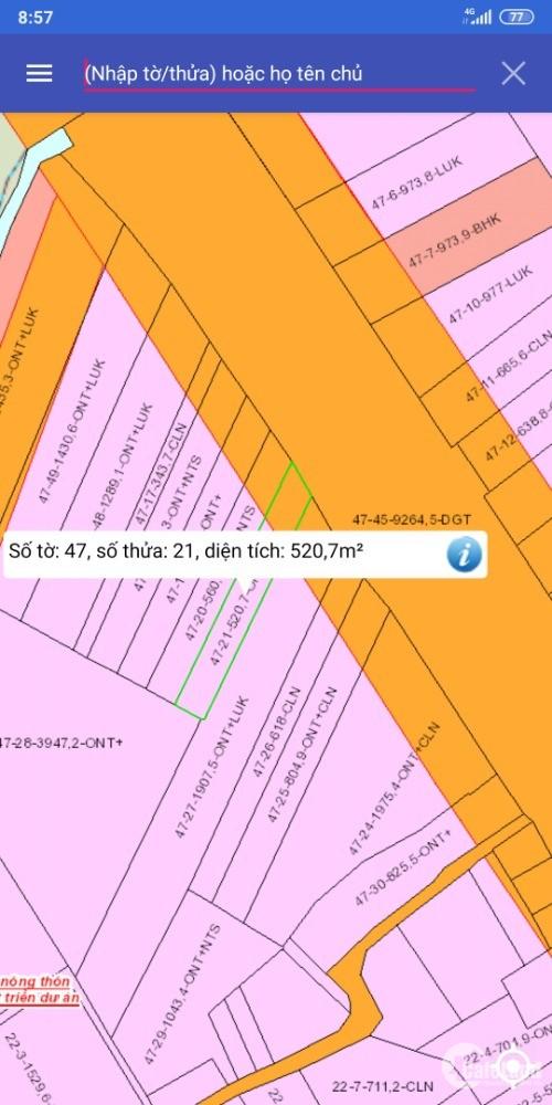Đất mặt tiền quốc lộ 51 giá rẻ cho dân đầu tư