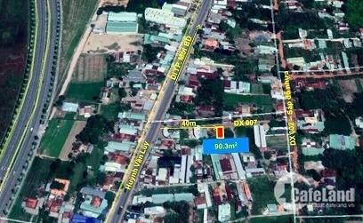 Chính chủ cần bán nhanh lô đất mặt tiền đường DX07 Phú Mỹ, Tp. Thủ Dầu Một, Bình