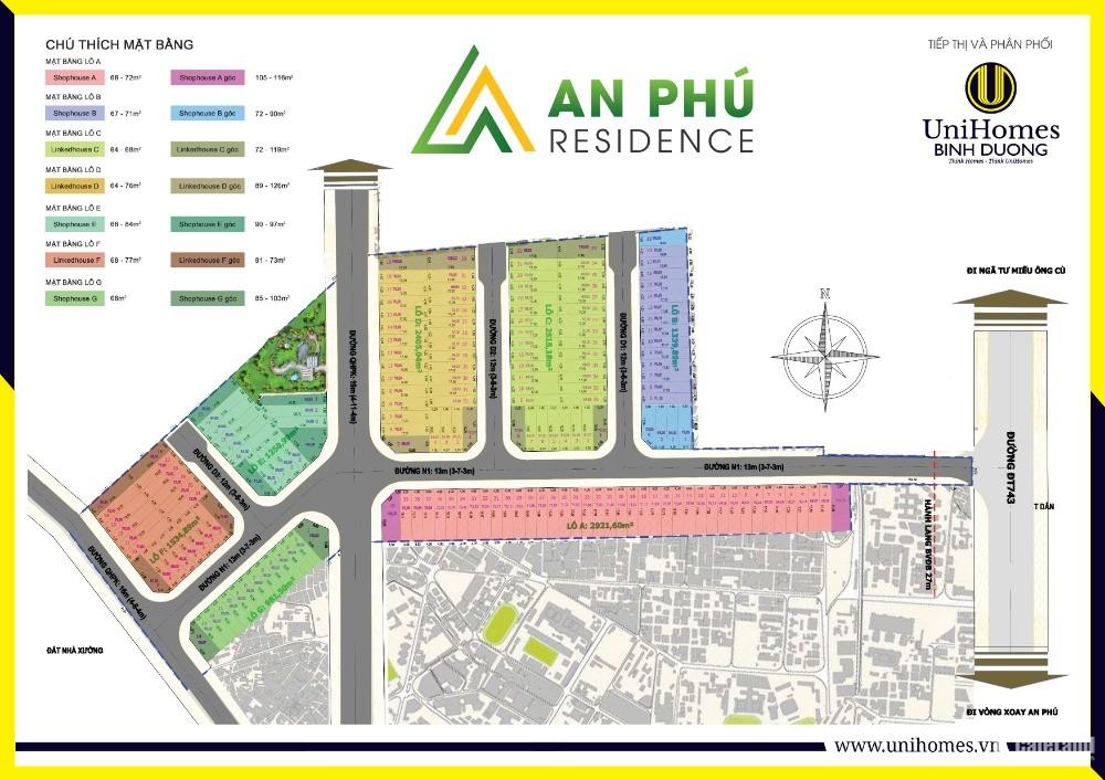 Bán Đất Mặt Dường Dt743 Tiền Chợ - Shr-  Thuận An – Bình Dương