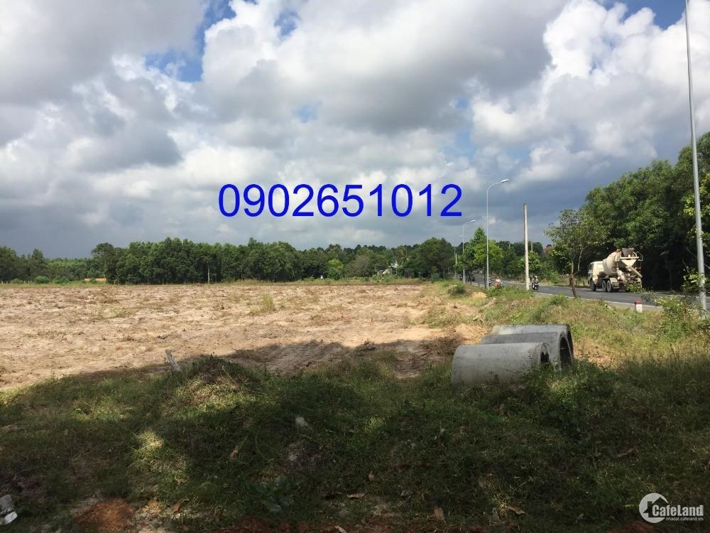 Bán nhanh lô đất đẹp mặt tiền đường quốc lộ 55, hướng đông bắc, giá tốt