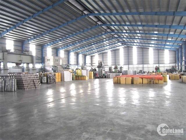 Cho thuê kho xưởng DT 1000m2 Biên Giang, Hà Đông, Hà Nội.