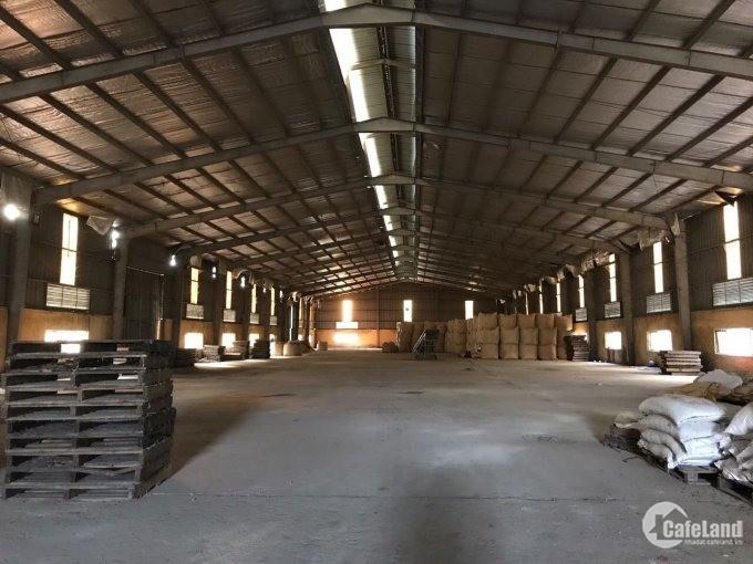 Cho thuê làm kho hàng, xưởng SX khu Đông Mỹ DT 3600m2