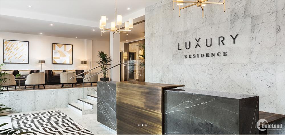 Căn hộ cho thuê The Luxury Residence Nội thất Cao cấp