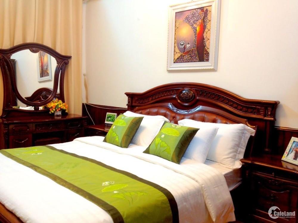Cho thuê căn hộ cao cấp 1 phòng ngủ, full nội thất phố Tạ Quang Bửu,Hai Bà Trưng