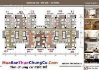 Bán căn góc 96,5m2, 3PN đủ nội thất tòa CT2 tại KĐT Văn Khê giá 1.4 tỷ.