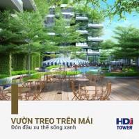 Bảng giá căn hộ chung cư HDI Tower chủ đầu tư,tặng ngay 100tr, LH xem căn